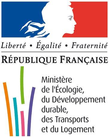 logo du Minist�re de l'�cologie, du D�veloppement durable, des Transports et du Logement
